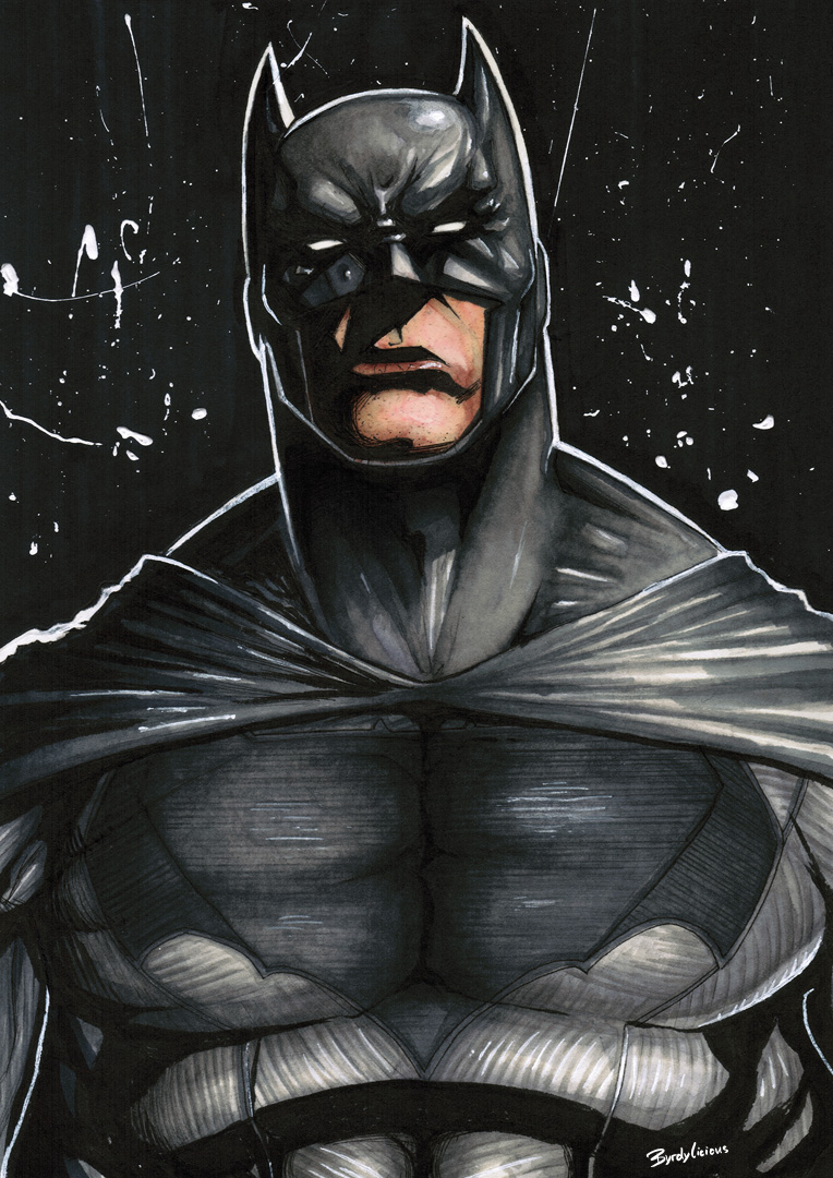 batman dark knight fanart byrdylicious