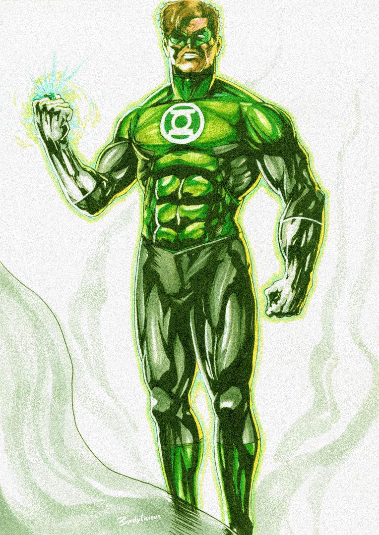 Green Lantern Fanart byrdylicious